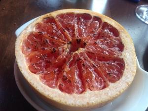 bruleed grapefruit yas