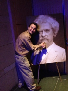 Mike and mark twain