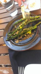 asparagus action shot