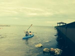 kayaking w baby