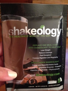 shakeology packet