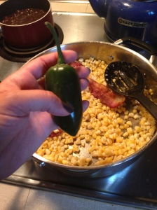 jalapeno and corn