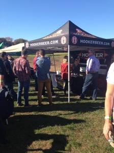 hooker beer tent