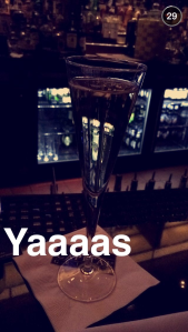 yaaas best champagne shot