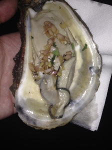 oyster with vinagrette