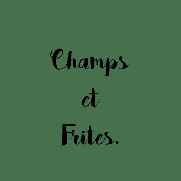 champs et frites logo