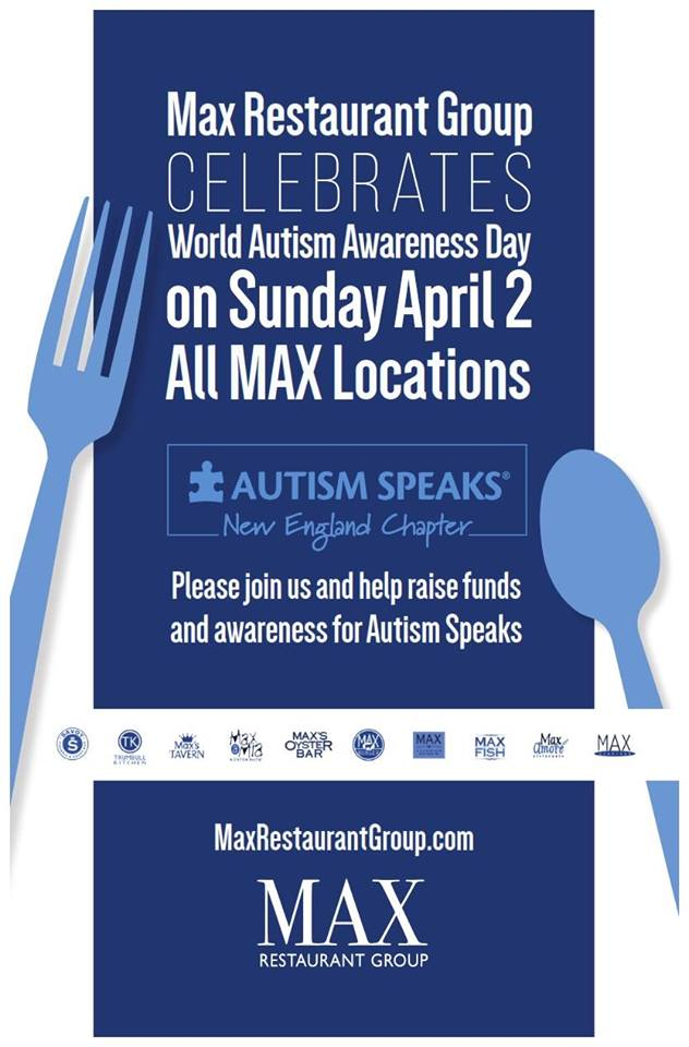max restaurant group autism speaks