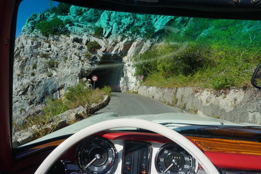 France to Spain via Vintage Car (almost as romantic as itsounds)